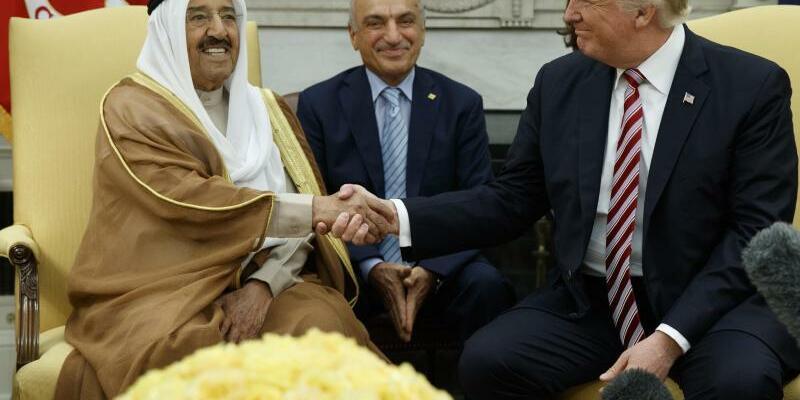 Trump empfängt Kuwaits  Emir - Foto: Evan Vucci