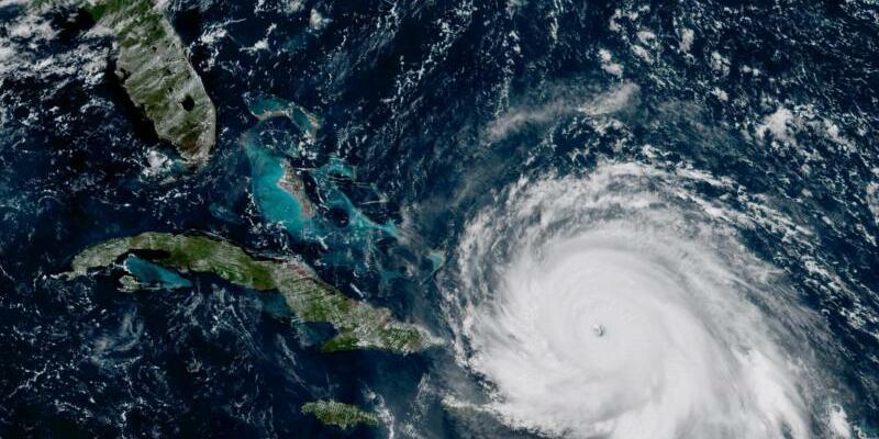 Hurrikan «Irma» - Foto: NOAA-NASA