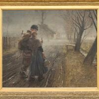 NS-Raubkunst - Gemälde von Fritz von Uhde - Foto: Bernd Fickert/Wiesbadener Museum