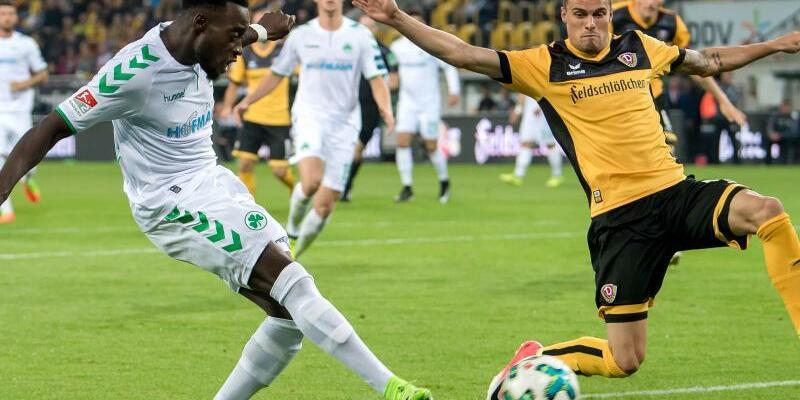 SG Dynamo Dresden - SpVgg Greuther Fürth - Foto: Thomas Eisenhuth