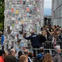 Abbau des Parthenon der Bücher - Foto: Göran Gehlen
