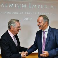 Rafael Moneo erhält Praemium Imperiale - Foto: Bernd Settnik
