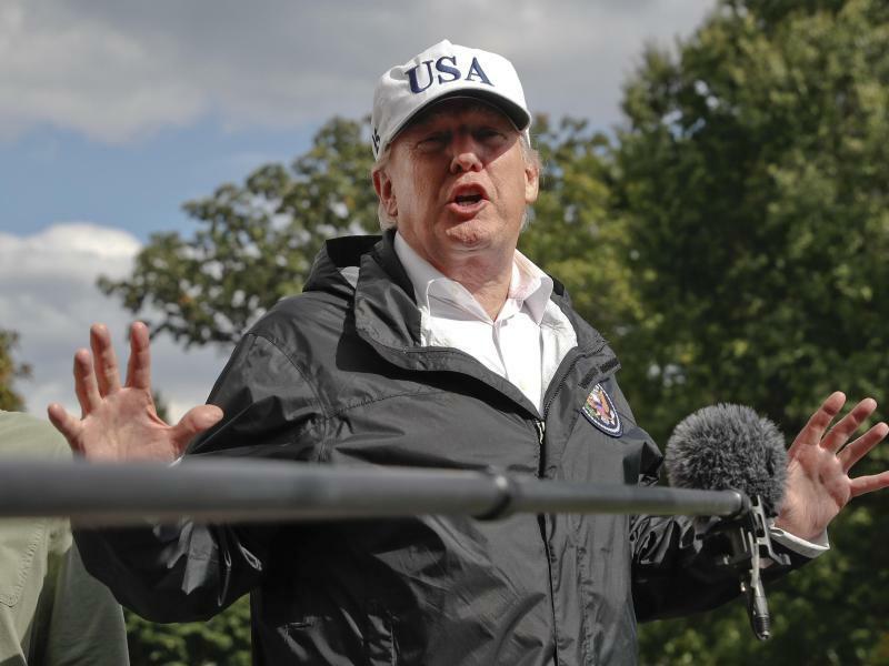 Trump in Florida - Foto: Alex Brandon