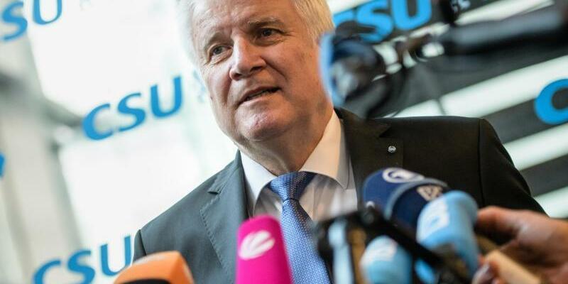 CSU-Chef Horst Seehofer - Foto: Matthias Balk