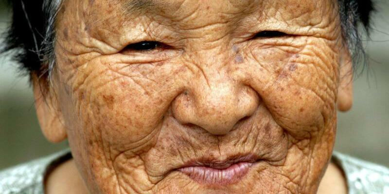 Alte Japanerin - Foto: epa/Archiv