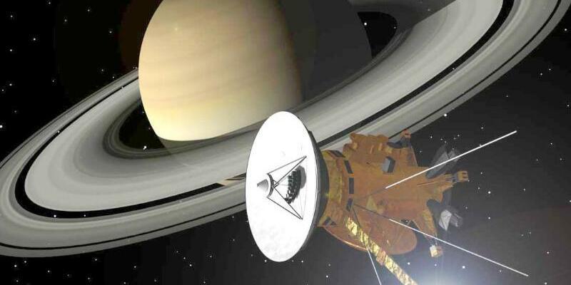 Raumsonde Cassini - Foto: Nach rund 20 Jahren hat die Nasa-Sonde «Cassini» ausgedient. Foto:DLR