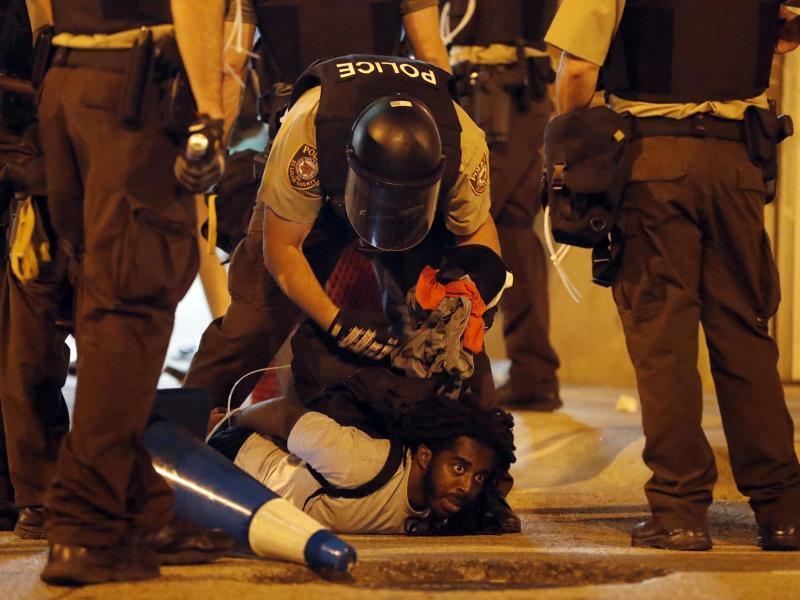 Unruhen in St. Louis - Foto: Jeff Roberson
