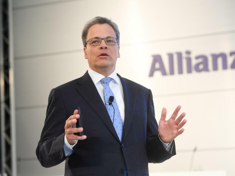 Manfred Knof - Foto: Der 52 Jahre alteManfred Knof war erst 2015 zum Deutschland-Chef der Allianz berufen worden. Foto:Tobias Hase