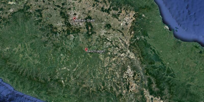 Satellitenaufnahme von Mexiko - Foto: Google