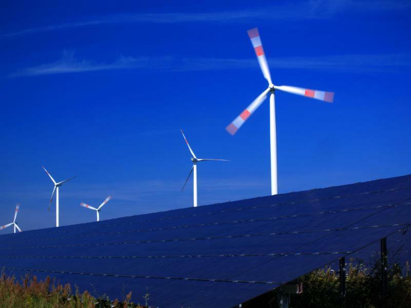 Erneuerbare Energien - Foto: Jens Büttner