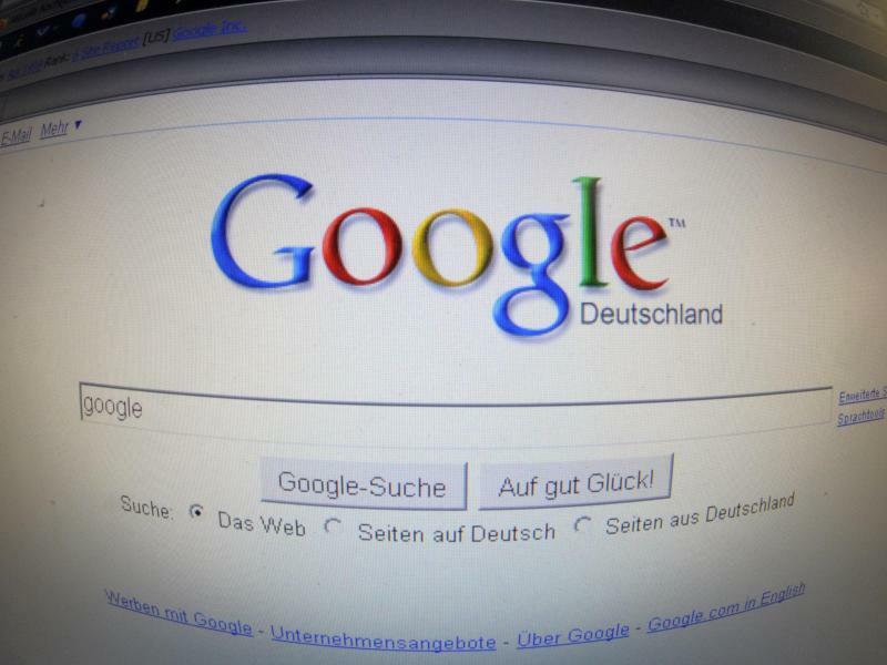 Google-Suche - Foto: Hintergrund ist eine Klage des US-Unternehmens «Perfect 10», das online Erotikfotos anbietet. Foto:Sören Stache