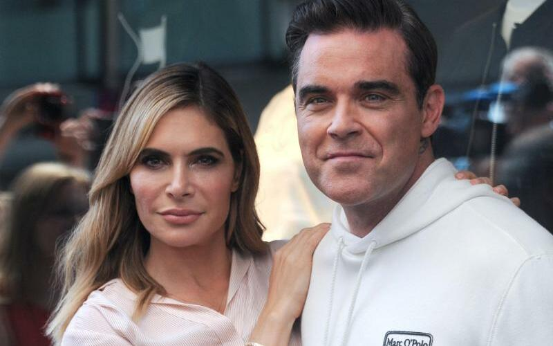 Robbie Williams & Ayda - Foto: Fabian Nitschmann