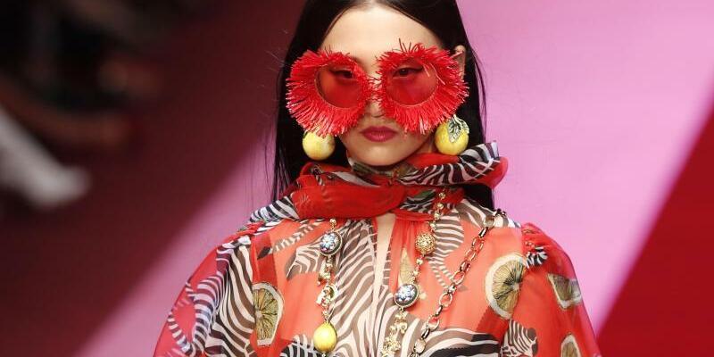 Modewoche Mailand - Dolce & Gabbana - Foto: Dolce & Gabbana lassen die Zebras los. Foto:
