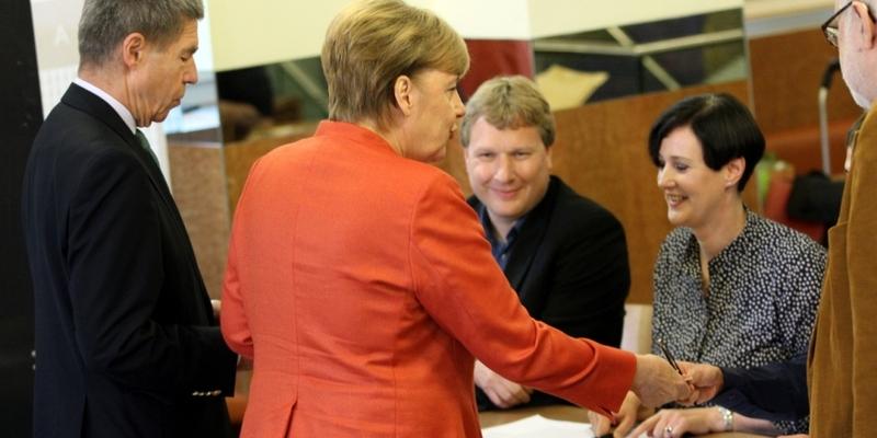 Angela Merkel bei der Stimmabgabe am 24.09.2017 - Foto: über dts Nachrichtenagentur