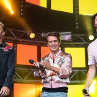 Take That - Foto: Joel Goodman/London News Pictures via ZUMA