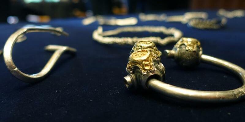 Silberschatz aus der Wikingerzeit - Foto: Andre Klohn