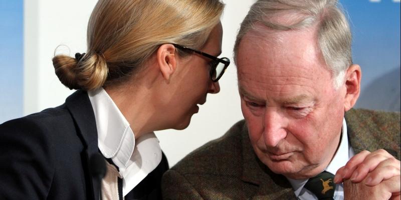 Alice Weidel mit Alexander Gauland - Foto: über dts Nachrichtenagentur