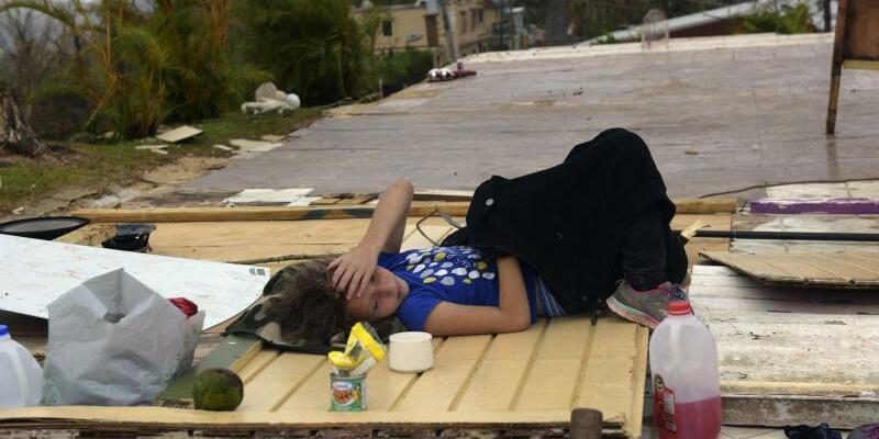 Nach dem Hurrikan - Foto: Carol Guzy