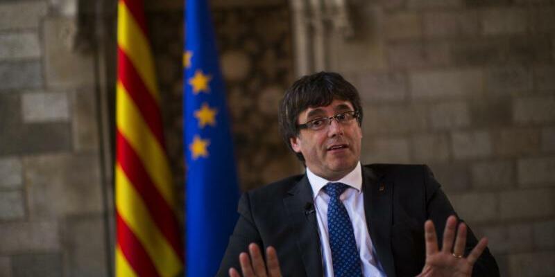 Carles Puigdemont - Foto: Emilio Morenatti