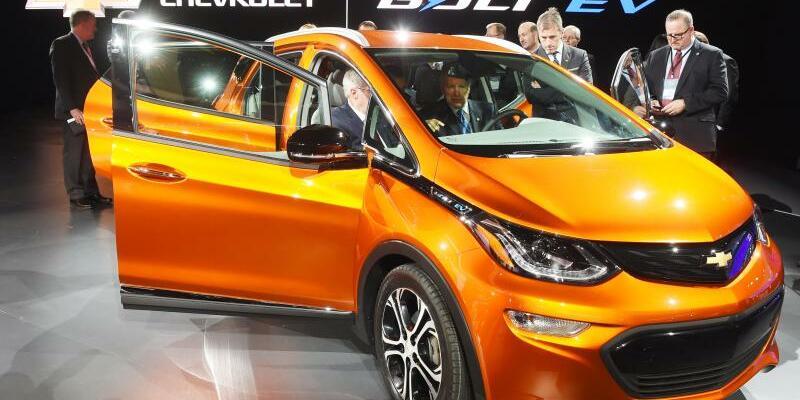 Chevrolet Bolt EV - Foto: Der Chevrolet Bolt EV wird die Basis für weitere vollelektrische Modelle vonGeneralMotors. Foto:Uli Deck