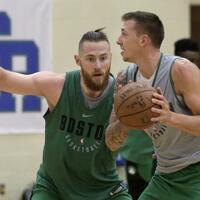 Daniel Theis bei den Boston Celtics - Foto: Steven Senne