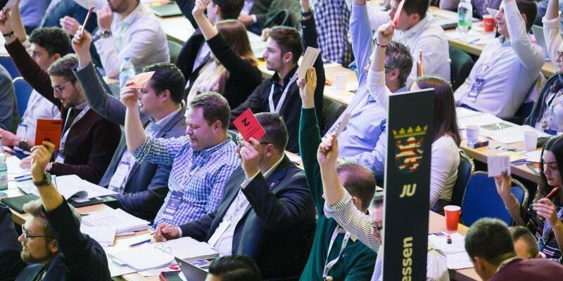 Deutschlandtag der Jungen Union - Foto: Die JU hat aktuell etwa 110.000 Mitglieder. Foto:Oliver Killig