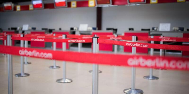 Air-Berlin-Schalter - Foto: Sophia Kembowski