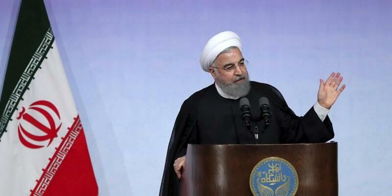 Hassan Ruhani - Foto: Office of the Iranian Presidency/AP