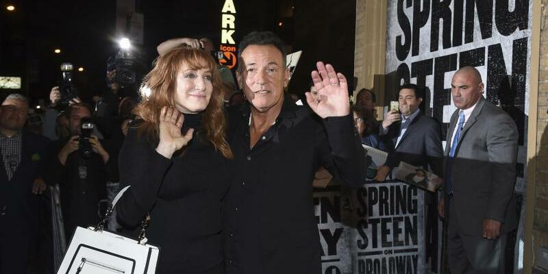 Bruce Springsteen & Patti Scialfa - Foto: Evan Agostini/Invision