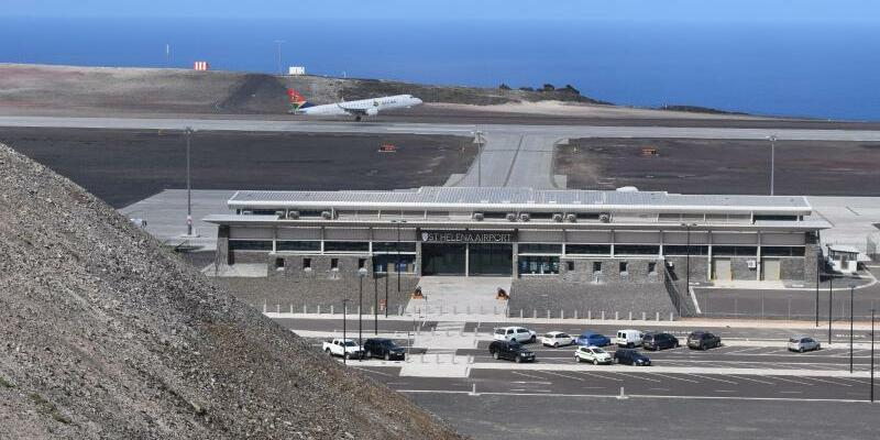 Flughafen auf St. Helena - Foto: SHG Airport Directorate