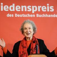 Buchmesse Frankfurt - Margaret Atwood - Foto: Arne Dedert