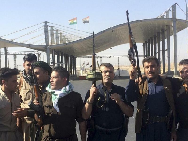 Kurdische Sicherheitskräfte - Foto: Emad Matti