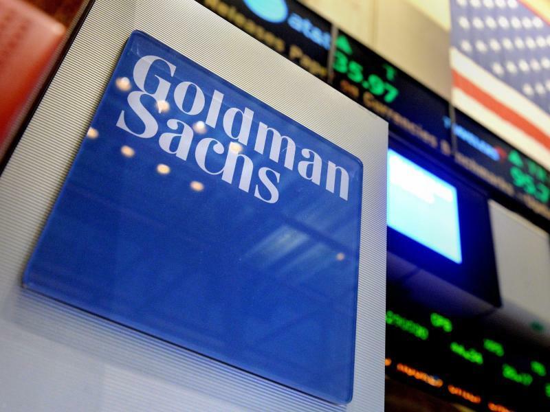 Goldman Sachs - Foto: Bei Goldman Sachs stieg der Überschuss verglichen mit dem Vorjahreswert um zwei Prozent auf 2,1 Milliarden US-Dollar (1,8 Mrd Euro). Foto:Justin Lane