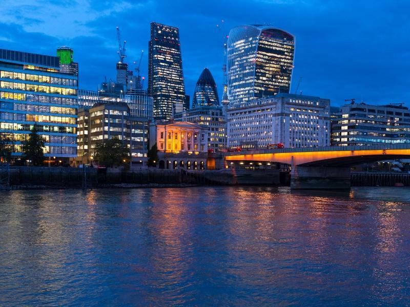 Finanzbezirk London - Foto: Monika Skolimowska