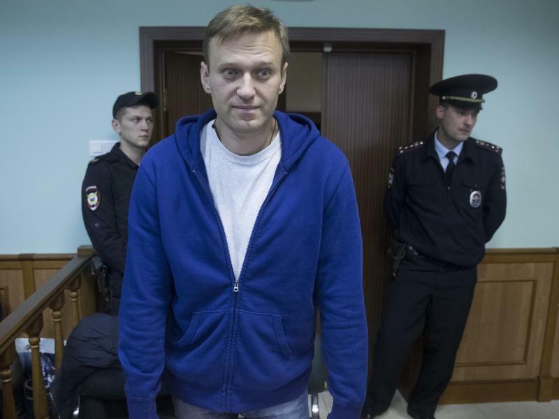 Alexej Nawalny - Foto: Pavel Golovkin