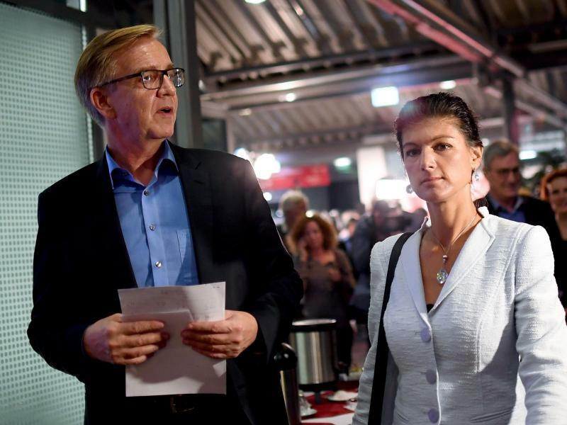 Bartsch und Wagenknecht - Foto: Britta Pedersen