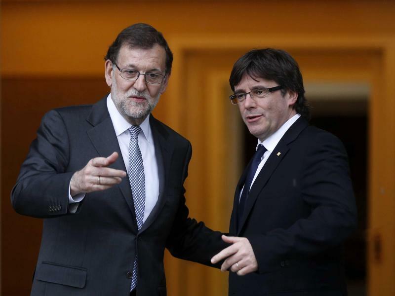 Mariano Rajoy und Carles Puigdemont - Foto: Paco Campos