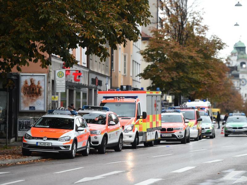Alarm in München - Foto: Andreas Gebert