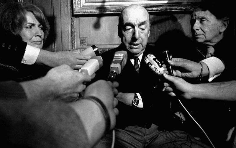 Pablo Neruda - Foto: Laurent Rebours/AP