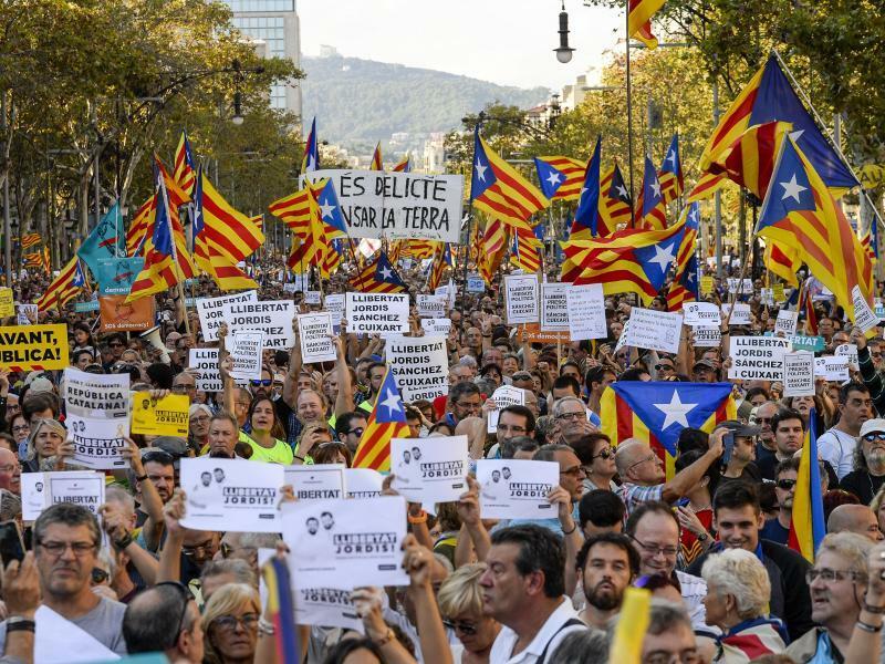 Krise in Katalonien - Foto: Nicolas Carvalho Ochoa