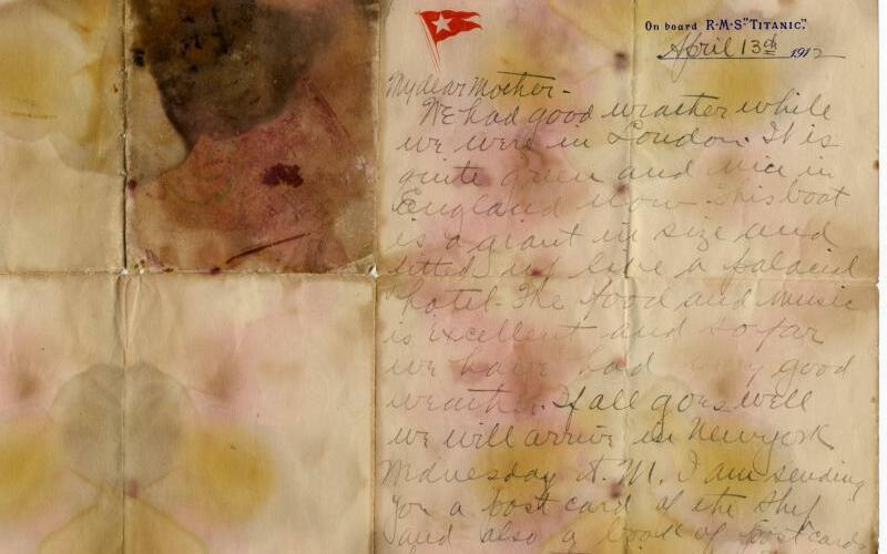 Versteigerung von Titanic-Memorabilien - Foto: Henry Aldridge & Son