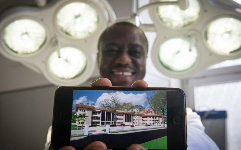 Dortmunder Arzt baut Klinik in Ghana - Foto: Bernd Thissen