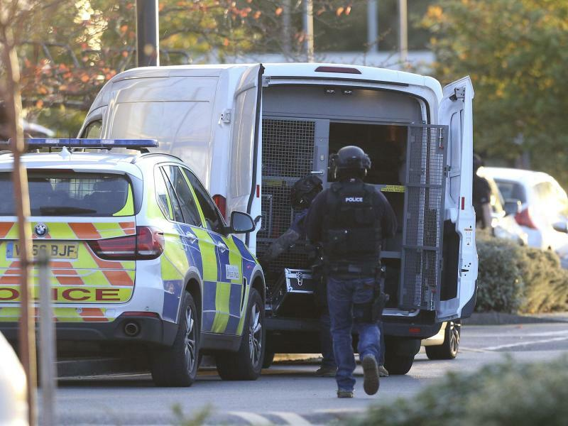 Polizeieinsatz - Foto: Aaron Chown