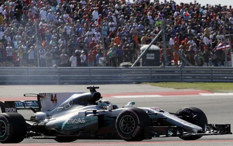 Formel 1: Großer Preis der USA - Foto: Eric Gay