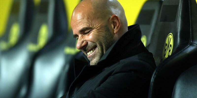 Optimist - Foto: Trainer Peter Bosz will mit Borussia Dortmund den Erfolgen der Bayern Einhalt gebieten. Foto:Ina Fassbender
