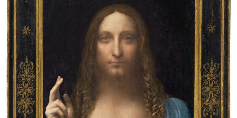 Herbstauktionen bei Christie's in New York - Foto: Das Gemälde «Salvator Mundi» von Leonardo a Vinci ist das Herzstück der alljährlichen New Yorker Herbstauktionen. Foto: