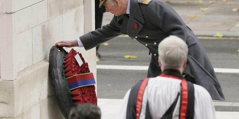 Remembrance Sunday - Prince Charles - Foto: Tim Ireland