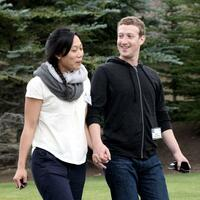 Mark Zuckerberg & Priscilla Chan - Foto: Andrew Gombert