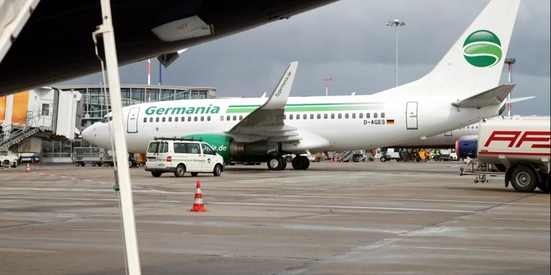 Flugzeug von Germania - Foto: über dts Nachrichtenagentur