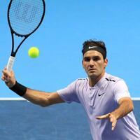 Favorit - Foto: Roger Federer tritt im Halbfinale gegen David Goffin an. Foto:Adam Davy